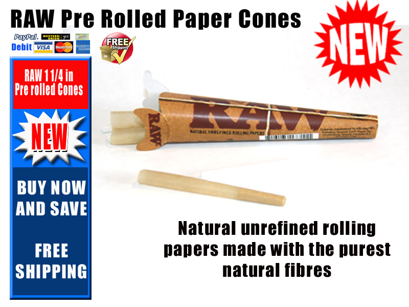 where can i buy raw cone papers Raw rolling papers unbleached pre-rolled cone tips - 21 tips per  your bid is the same as or more than the buy it now price you can save time and money by buying.