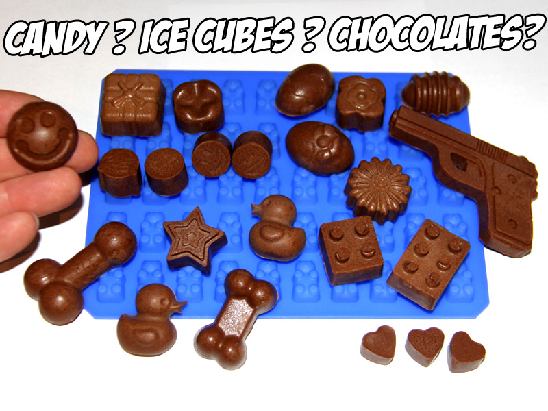 Silicon gummy bear molds