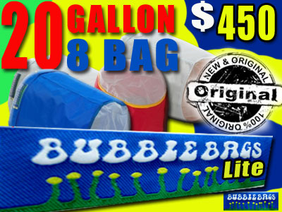 Bubble Bags LITE | 20 Gallon 8 Bag Kit