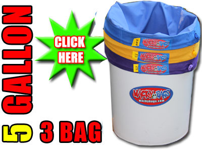 5 Gallon 3 Bag Wacky Bubble Filter Bags