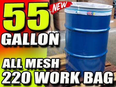 55 Gallon All Mesh Bubble Filter Bag