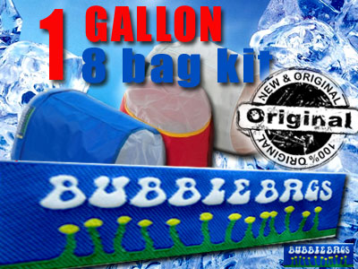 Bubble Bag | 1 Gallon 8 Bag Kit