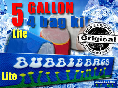 5 Gallon 4 Bag Bubble Bag Lite