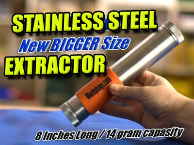 Large BHO Stainless Steel Oil Extractor