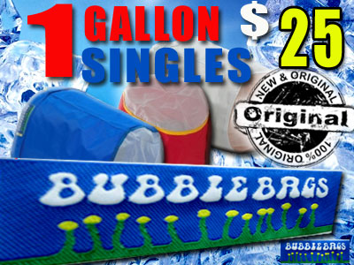 Bubble Bag | Single 1 Gallon Original Bag
