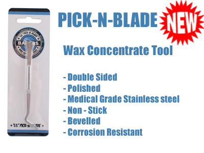 Rosin Tech Collection Tool | Pick-n-Blade