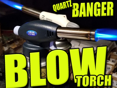 Blow Torch Quartz Banger Lighter