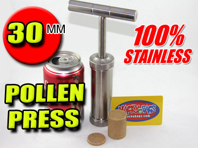 100% STAINLESS STEEL | POLLEN HASH T BAR PRESS