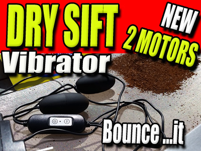 DRY SIFT VIBRATOR | POWDER SCREEN SHAKER