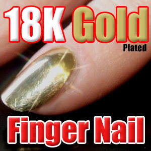 Fake Gold Fingernail