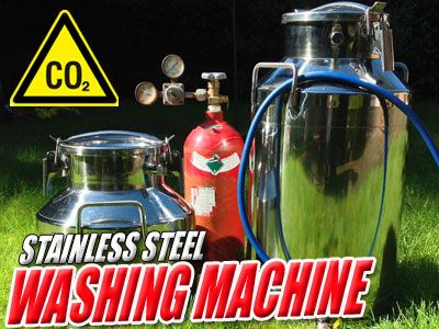 Bubble Stainless Steel Washing Machine