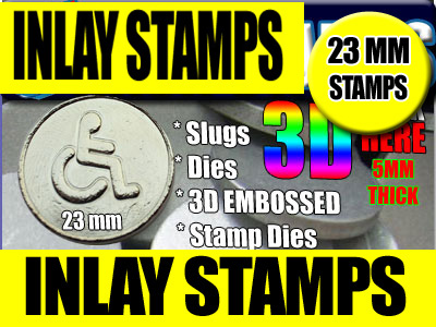 23mm  Stamps