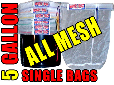All Mesh 5 Gallon Dry Ice bags