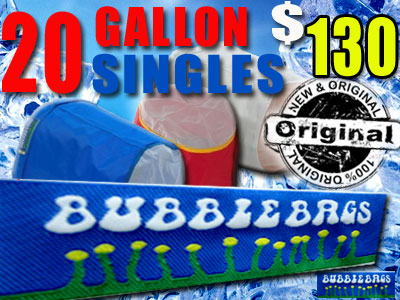 Bubble Bag | Single 20 Gallon Original Bag