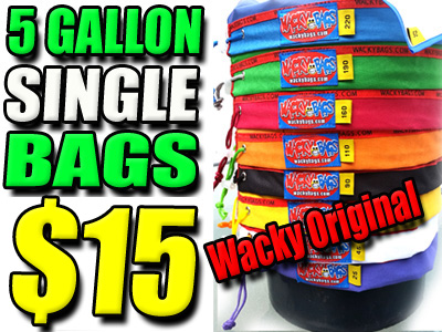 5 Gallon Single Wacky Bubble Filter Bags