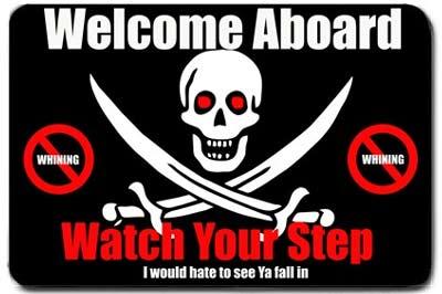 weclome aboard